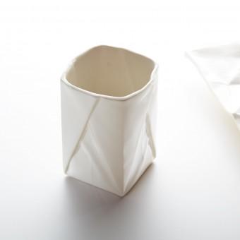 moij design Origami Becher natur
