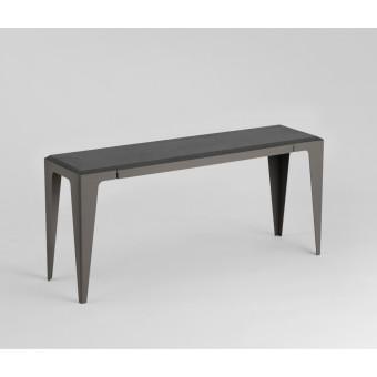 BANK CHAMFER schiefer-schwarz | nachhaltiges Möbeldesign | WYE