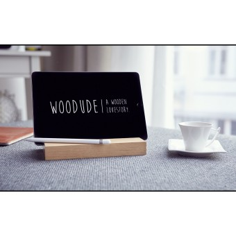 MICHEL | iPad Halterung aus Holz | Bicycledudes