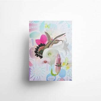 künstlerherz' bildmaschine/Flowers Artist Print