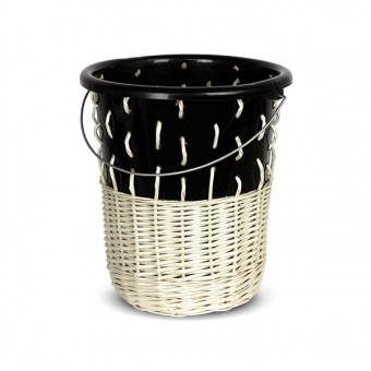 "Papierkorb ""Bow Bin No.1 Black"""