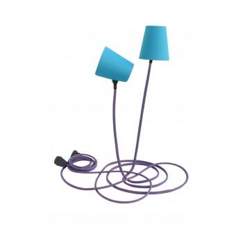 son of nils Climbing Lamp (blau/rot / petrol)