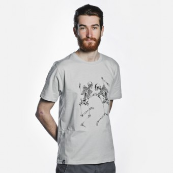 Bon Matin T-Shirt Skelette No. 4 (light grey)