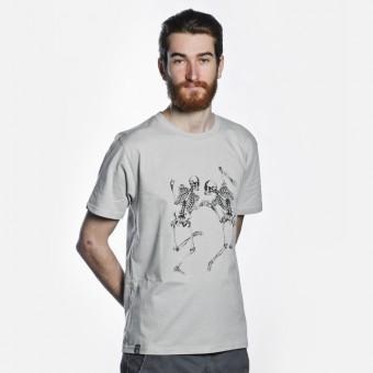 Bon Matin T-Shirt Skelette No. 4 (light grey)