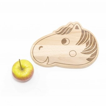julica-design Frühstücksbrett Pferd