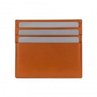 Cardholder Wallet in cognac - aus premium pflanzlich gegerbtem Leder