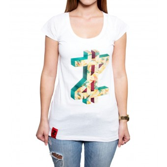 Coazi Edged Wide T-Shirt Female