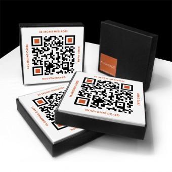 COGNOSCO QR-Code Memo-Spiel & Postkartenset - Gewinner des Preises FORM#2013