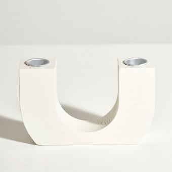 mused - CURVE U - white