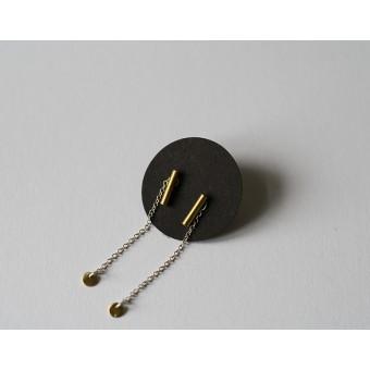IAAI Cylinder Ohrringe