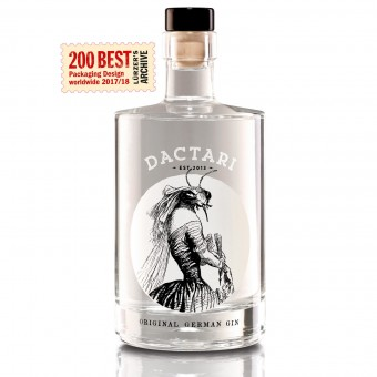 DACTARI GIN, 500ml, 44% Vol – DAC.design