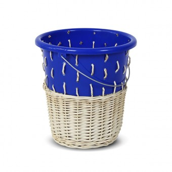 "Papierkorb ""Bow Bin No.1 Dark Blue"""