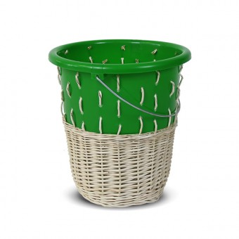 "Papierkorb ""Bow Bin No.1 Dark Green"""