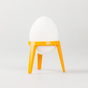 rocket - Design Eierbecher aus Metall (4er Set orange)