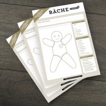 Design Verlag Notizblock – Räche dich! (3er-Set)