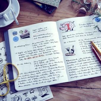 dot on diary / food – Rezeptalbum