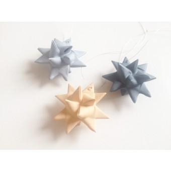 moij design Weihnachtsanhänger aus Porzellan