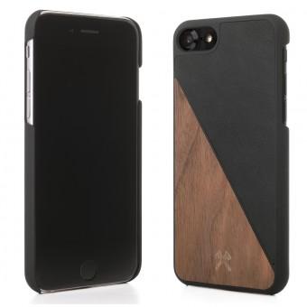 Woodcessories - EcoCase Split - Premium Design Hülle, Case, Cover für das iPhone aus FSC zert. Holz (iPhone 6/ 6s, Walnuss/Schwarz / Ahorn-Blau / Kirsch-Grün)