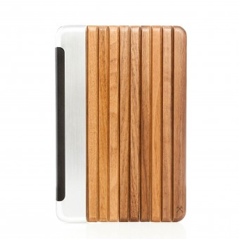 "Woodcessories - EcoGuard iPad Mini 4 Smart Case ""silver"""