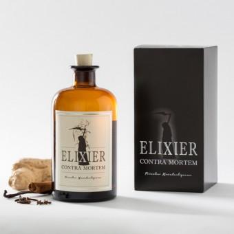Elixier Contra Mortem, Kräuterlikör (500ml, 45% Vol.)