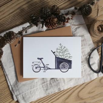 Weihnachtskarte mit Umschlag - Weihnachten in Kopenhagen - Elliet