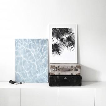 na.hili endless summer WATER Artprint A2 Poster