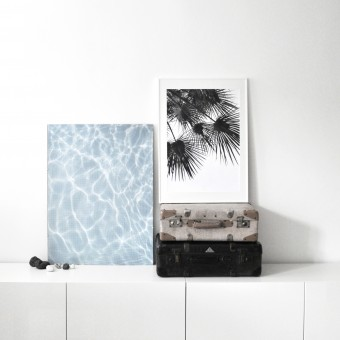 na.hili endless summer SET WIND & WATER Artprint A1 Poster