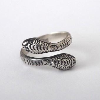 Fünf Snake Ring Dua
