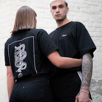 Fünf Snake T-Shirt Racun Black