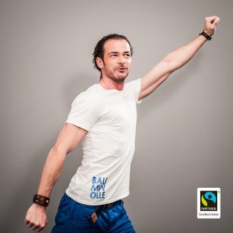 """Fairbiolous Männer Fairtrade-Shirt """"Baumwolle"""""""
