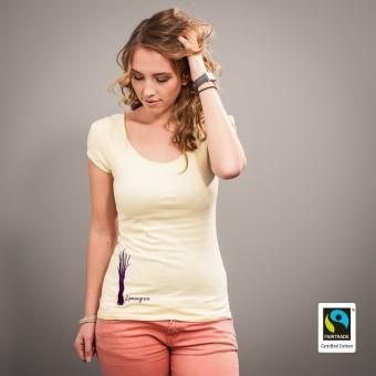 """Fairbiolous Frauen Fairtrade-Shirt """"Lemongrass"""""""