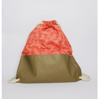 "Zitat Gym Bag ""Flashy Terracotta"""