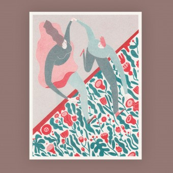 Anne Albert – New Season – Riso-Druck (17,8 x 23,1 cm)