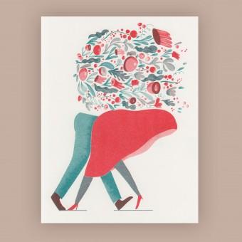 Anne Albert – Love – Riso-Druck (17,8 x 23,1 cm)