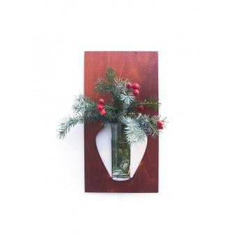 """playfulsolutions Sonderedition Weihnachten Wandvase """"flortrait"""""""