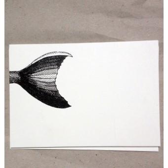 thethe FISHY FLOSSE Postkarte