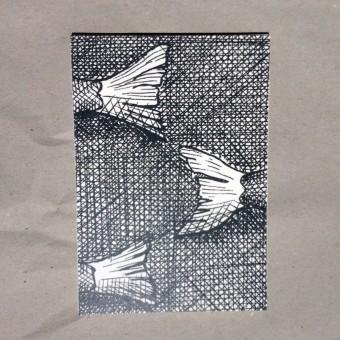 thethe FISHY FLOSSEN Postkarte