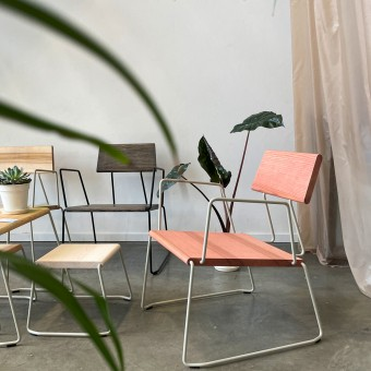 D:008 Loungechair mit Armlehne | FUCHS & HABICHT | Made in Germany