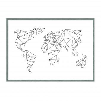 na.hili A1 POSTER Geometrical World