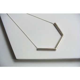 "puur.jewellery Kette ""geometrical figures no.1"" small"