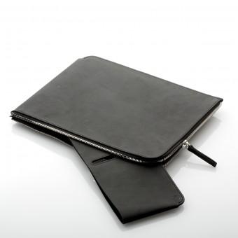 """germanmade. Zip Clutch aus Leder für iPad 9,7"""" und iPad Pro 10,5"""""""