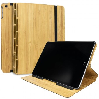 JUNGHOLZ Design WoodCase, Tabletcase, Bambus, iPad 5. & 6. Generation