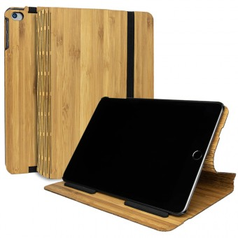 JUNGHOLZ Design WoodCase, Tabletcase, Bambus, iPad Mini 5.Generation