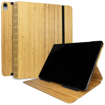 JUNGHOLZ Design WoodCase, Tabletcase, Bambus, iPad Pro 12.9'' 3.Generation