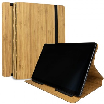 JUNGHOLZ Design WoodCase, Tabletcase, Bambus, Samsung Galaxy Tab S4
