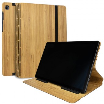 JUNGHOLZ Design WoodCase, Tabletcase, Bambus, Samsung Galaxy Tab S5e