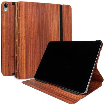 JUNGHOLZ Design WoodCase, Tabletcase, Padouk, iPad Pro 11''
