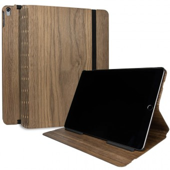 JUNGHOLZ Design WoodCase, Tabletcase, Walnuss, iPad Air 10.5'' 3.Generation