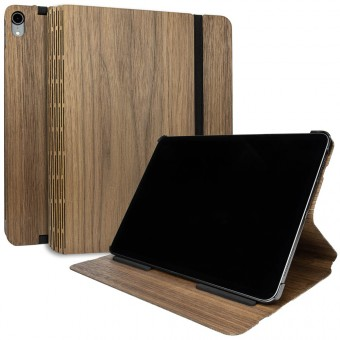 JUNGHOLZ Design WoodCase, Tabletcase, Walnuss, iPad Pro 11''