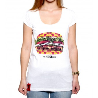 Coazi Burger Wide T-Shirt